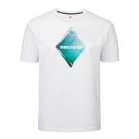 T-Shirt Diamant Sea-Doo - Blanc