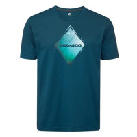 T-Shirt Diamant Sea-Doo - Bleu