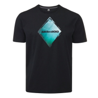 T-Shirt Diamant Sea-Doo - Noir