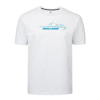T-Shirt Logo Sea-Doo - Blanc