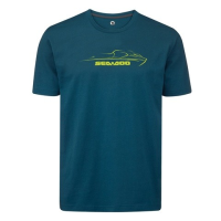 T-Shirt Logo Sea-Doo - Bleu