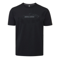 T-Shirt Logo Sea-Doo - Noir